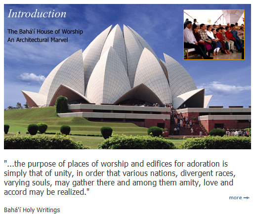 Baha'i House of Unity - India