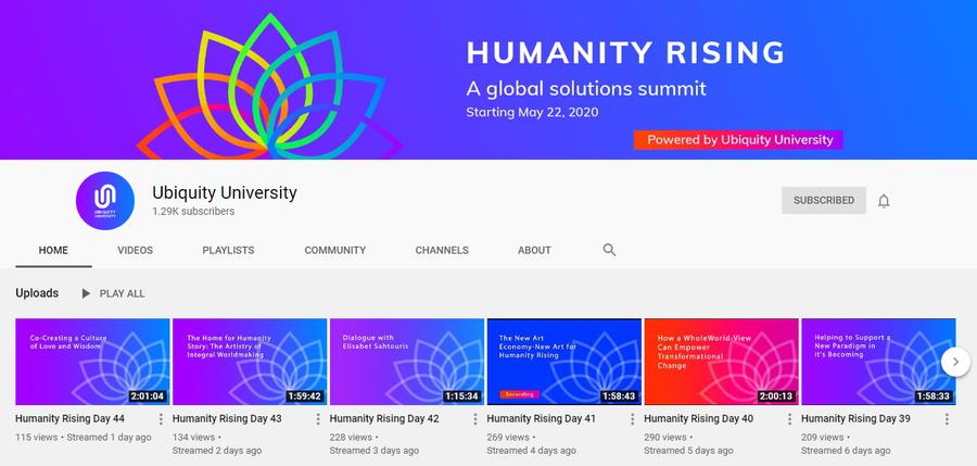 24 - 104546 - Humanity Rising - You Tube -