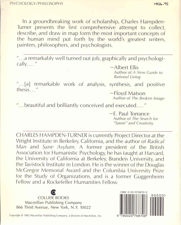 Maps of the Mind - Back Cover