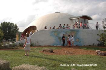 13 - 102577 - Peace Dome during Living Peaceably Day Fall 2009 -