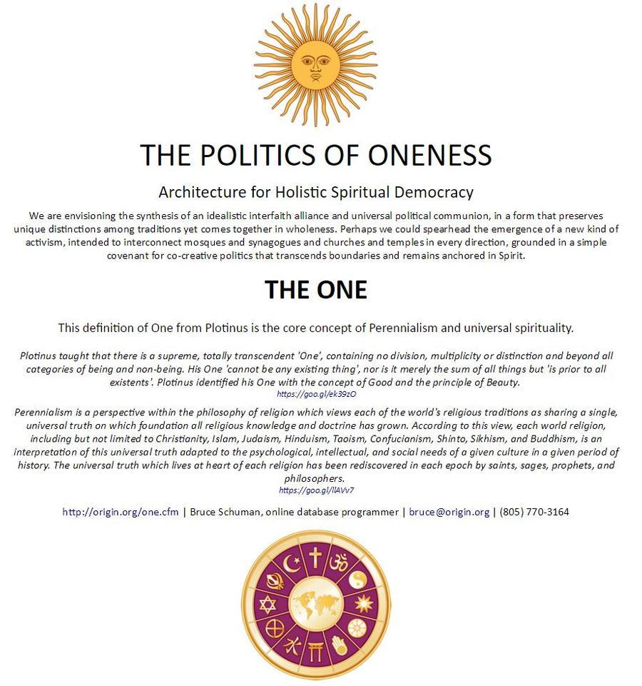 12 - 103372 - Politics of Oneness -