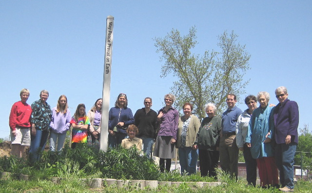 14 - 101277 - At the Peace Pole in Manhattan, KS -