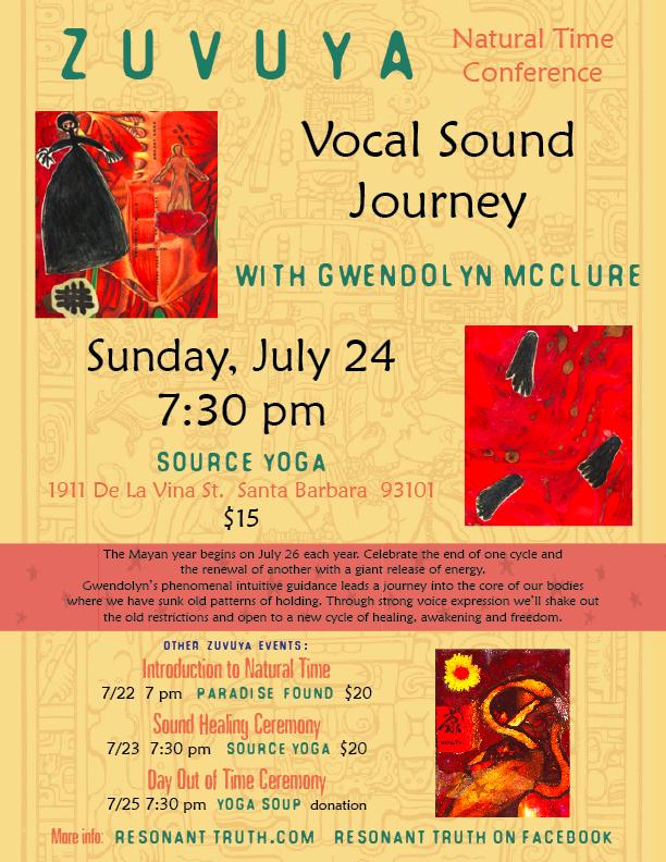13 - 102622 - Vocal Sound Healing Journey -