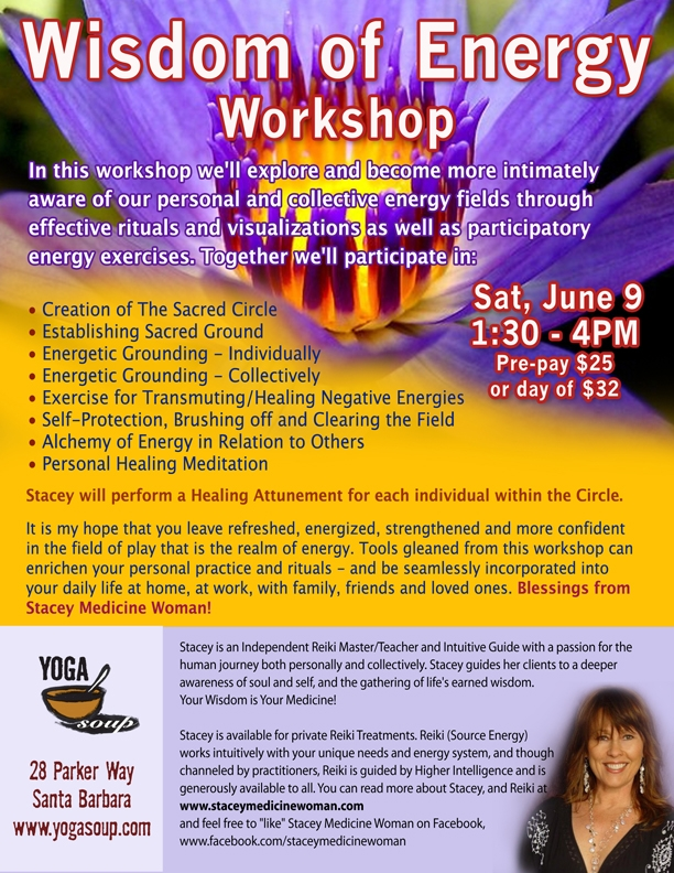 27 - 102787 - Wisdome of Energy Workshop at Yoga Soup -